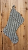 Corrugated Metal Christmas Stocking