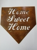 Home Sweet Home Baseball Home Plate