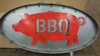 Large Marquee BBQ Pig