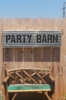 Party Barn Marquee Light Sign