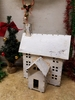 Rustic Holiday House Large White