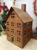 Rustic Holiday House Medium Rusted