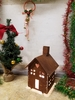 Rustic Holiday House Small Rusted