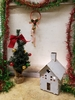 Rustic Holiday House Small White