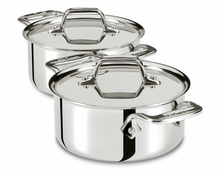All-Clad: 1/2 Qt Cocottes (set of two)