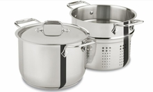 All-Clad: Specialty Cookware 6 Qt Pasta Pot