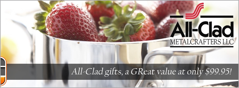 All-Clad: Gifts $99 Great Value