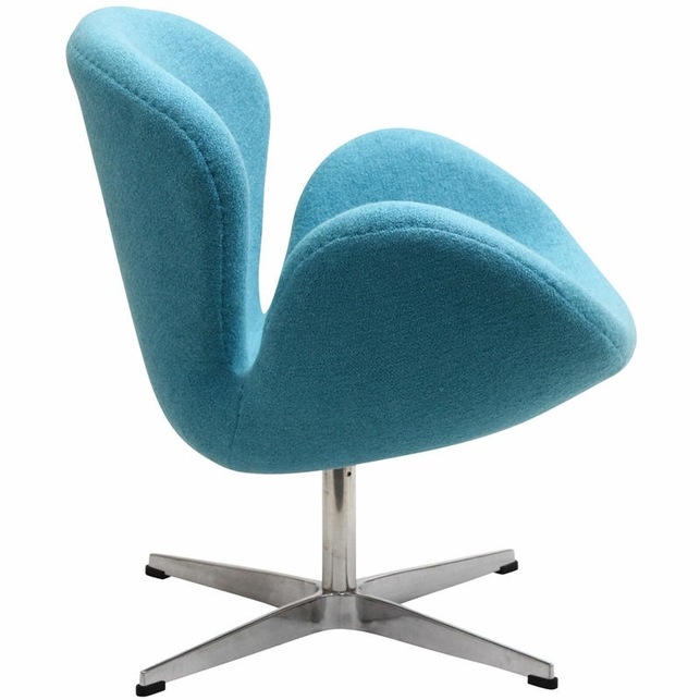 Wing Lounge Chair in Baby Blue