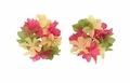 "4"" Pink, Yellow and Green Wrist or Ankle Band Leis 48ct"
