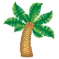"72"" Coconut Tree Jointed Cutout 12ct"