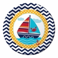 "Ahoy Matey! 9"" Dinner Plates 96ct"