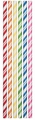 Assorted Color Paper Straws 144ct