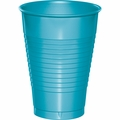 Bermuda Blue Plastic Cups 12 oz. Solid 240ct