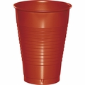 Brick Plastic Cups 12 oz. Solid 240ct