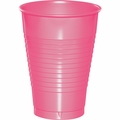 Candy Pink Plastic Cups 12 oz. Solid 240ct