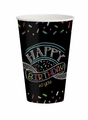 Chalk Birthday 12oz Hot/Cold Cups 96ct