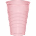 Classic Pink Plastic Cups 12 oz. Solid 240ct