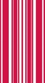 Classic Red Coordinates Stripe 3 Ply Guest Napkins 192ct