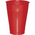 Classic Red Plastic Cups 12 oz. Solid 240ct