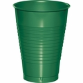 Emerald Green Plastic Cups 12 oz. Solid 240ct