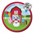 "Farmhouse Fun 7"" Lunch Plates 96ct"