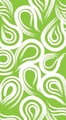 Fresh Lime Coordinates Swirl 3 Ply Guest Napkins 192ct