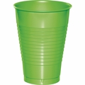 Fresh Lime Plastic Cups 12 oz. Solid 240ct