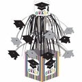 Graduation Stripes Mini Cascade Centerpiece 12ct