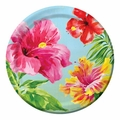 "Heavenly Hibiscus 7"" Lunch Plates 96ct"