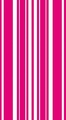 Hot Magenta Coordinates Stripe 3 Ply Guest Napkins 192ct