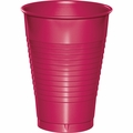 Hot Magenta Plastic Cups 12 oz. Solid 240ct