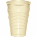 Ivory Plastic Cups 12 oz. Solid 240ct