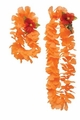 Orange Lei and Headband Set 48ct