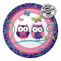 "Owl Pal Birthday 7"" Lunch Plates 96ct"