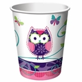 Owl Pal Birthday Hot/Cold 9oz Cups 96ct