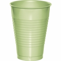 Pistachio Green Plastic Cups 12 oz. Solid 240ct