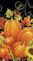 Pumpkin Tapestry 3 Ply Guest Napkins 192ct