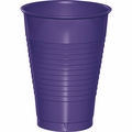 Purple Plastic Cups 12 oz. Solid 240ct