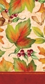 Rich Foliage 3 Ply Guest Napkins 192ct
