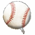 Sports Fanatic Baseball Metallic Balloon 10ct