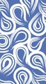 True Blue Coordinates Swirl 3 Ply Guest Napkins 192ct