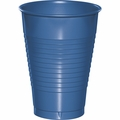 True Blue Plastic Cups 12 oz. Solid 240ct
