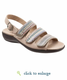 Kendra by Trotters (Sand/Sand Multi)