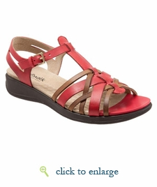 Taft by SoftWalk (Red/Tan)