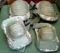 ACU Digital Camo Knee & Elbow Pads Set - Used