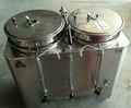 American Metal Ware 81010E Twin Urn, Used