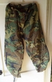 Cold Weather Camouflage Trousers, Rain Pants. Used