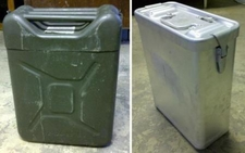 German Military Food Container, 4 Gallon - 1 part