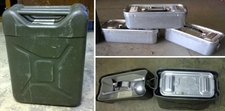 German Military Food Container, 4 Gallon - 3 parts