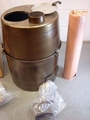 New Stock ! Tent Stove H-45 Multifuel / Wood Unused